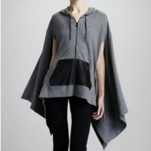 T by Alexander Wang Oversized Hooded Poncho Medium